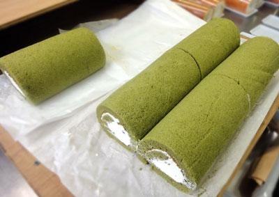 緑茶ロール