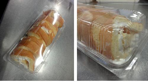 ワケありロールケーキ